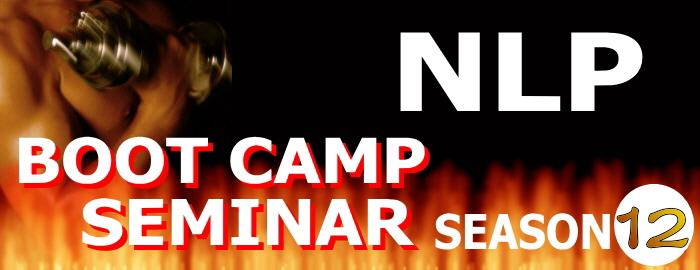 NLP BOOT CAMP SEMINAR season12